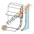 PVC End Cap for Plinth Profiles