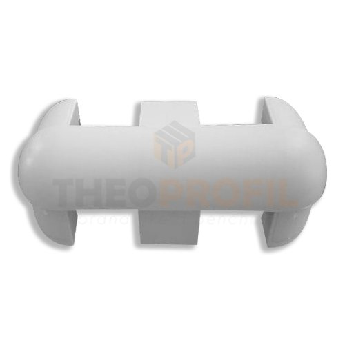 External Corner for Protective Bumper | Theoprofil Cold Rooms