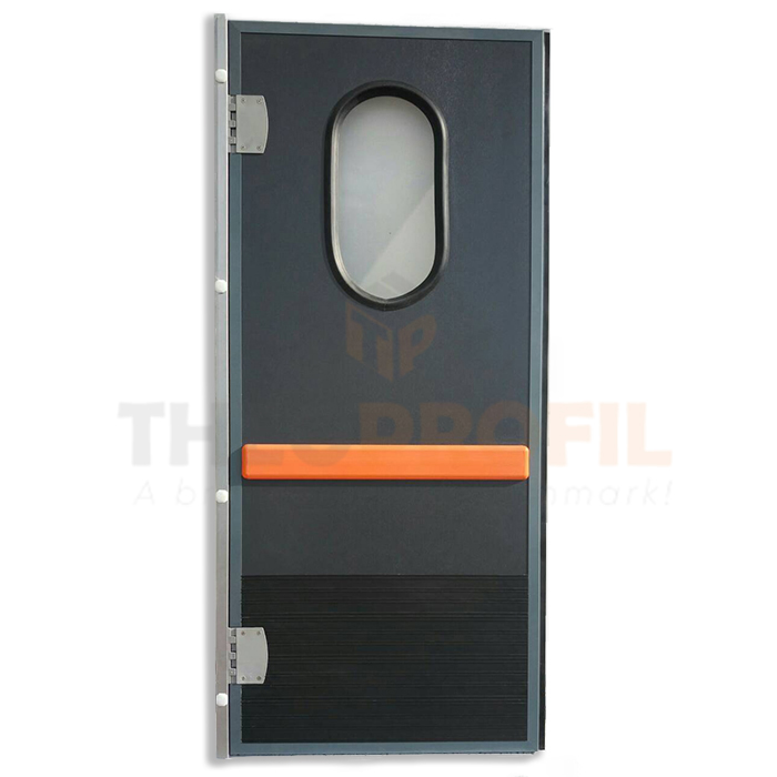 Semi-insulating swinging door - Inc. INOX Door Frame