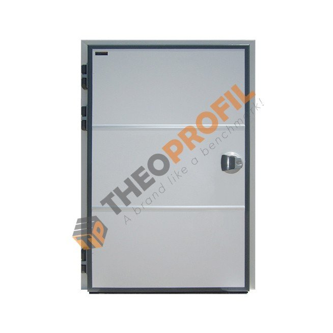 Coldroom chiller hinged door sweeper gasket