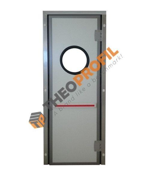 Semi-insulating swinging door - Inc. INOX Door Frame