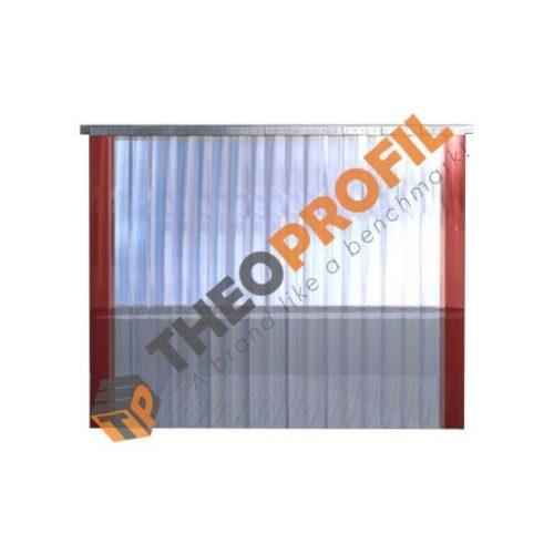 Freezer Strip Curtain - ready for installation