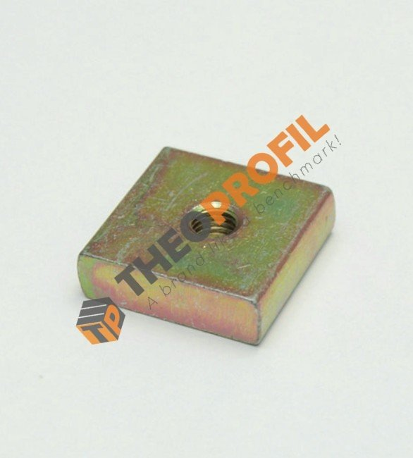 Metal Square Nut for T Omega Ceiling Suspension Profile