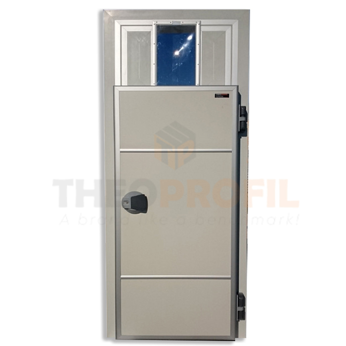 Fridge Hinged Door rail passage