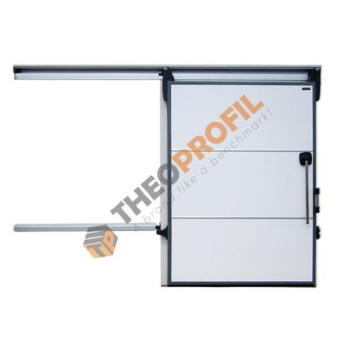 Chiller sliding door