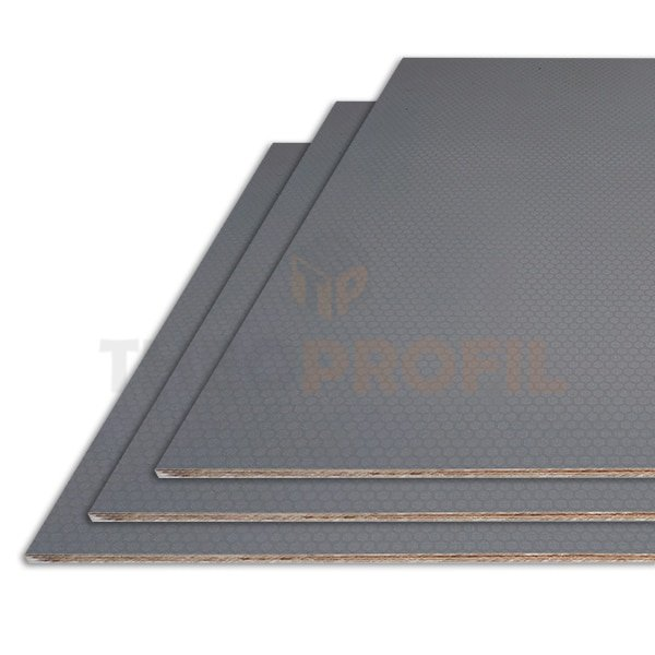 Non-slip Floor Plywood with melamine surface film | Theoprofil-Coldrooms.com